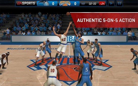 NBA Live Mobile APK download