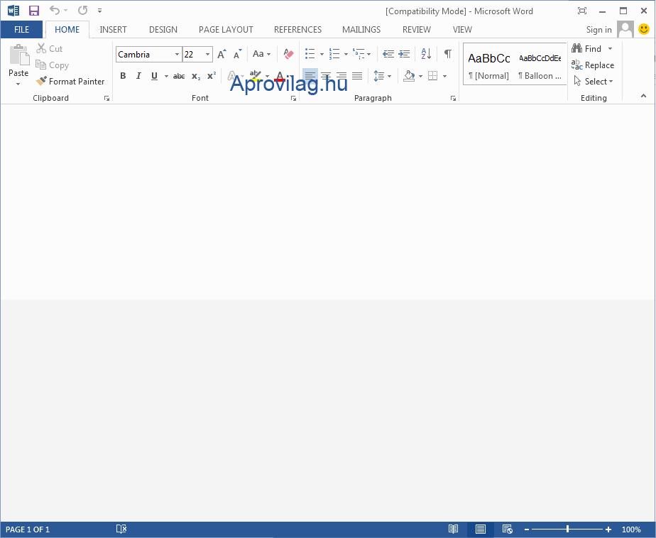 Office 2013 letöltés