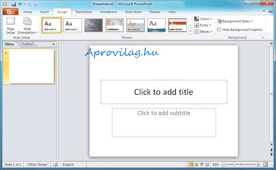 Microsoft PowerPoint Viewer 2010 letöltés