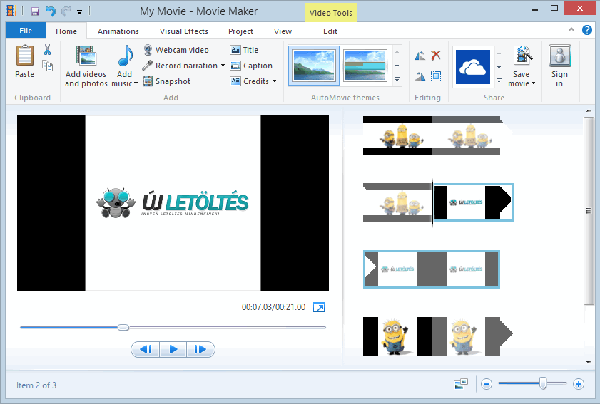Windows Movie Maker letöltés